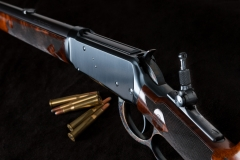 Turnbull restored Winchester 1894 rifle  with charcoal blued receiver