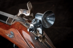 Turnbull restored German rifle with charcoal blued sight