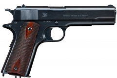 Turnbull restored Colt 1911 with charcoal blued frame and slide