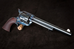 Turnbull finished Uberti SAA with charcoal blued cylinder and barrel