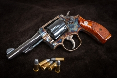 Smith & Wesson Heritage Series Model 10 with color case hardened frame by Turnbull Restoration
