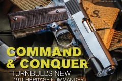 New Turnbull 1911 pistol with color case hardened frame