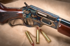 New Turnbull finished Marlin 1895 rifle with color case hardened receiver