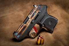 New Ruger LCP with Turnbull finished color case hardened slide