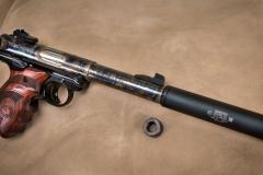 New Turnbull finished Ruger Mark IV with color case hardened barrel