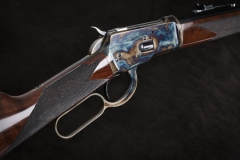 New Turnbull finished Winchester 1892 rifle with color case hardened receiver