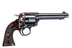 Turnbull restored Colt SAA Bisley revolver with nitre blued parts