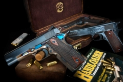 New Turnbull Model 1911 pistol with nitre blued parts
