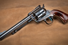 Turnbull finished Ruger Blackhawk revolver with nitre blued parts