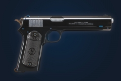 Turnbull restored Colt Model 1902 pistol with nitre blued parts