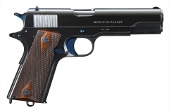 Turnbull restored Colt Model 1911 pistol with nitre blued parts