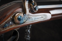 Turnbull restored German rifle  with nitre blued parts
