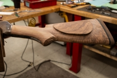 Tom Selleck Restored 1886 - Stock Shaping
