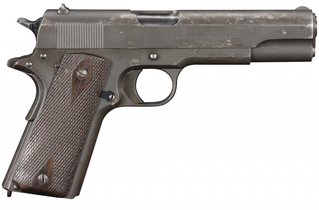 New 1911 Handguns: Restoring and Manufacturing
