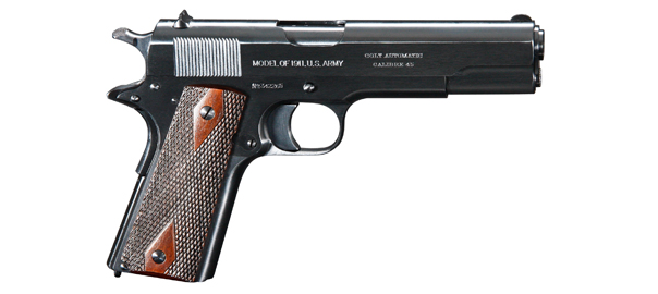 history of the Colt 1911