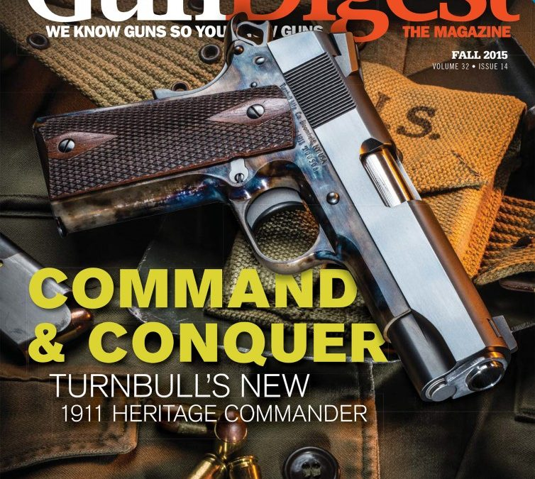 Turnbull Featured in Gun Digest