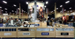 EuroOptic brings a selection of their products to shows across the country.