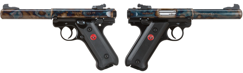 Turnbull Ruger Mark IV left and right
