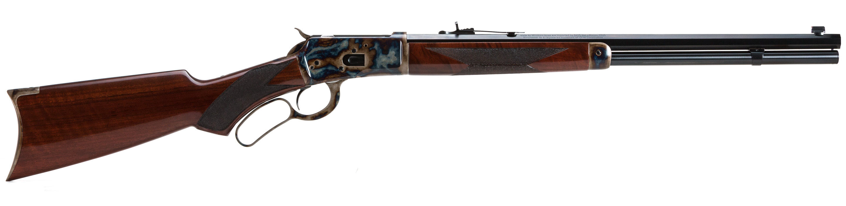 Turnbull Winchester 1892 in .44 Remington with pistol grip