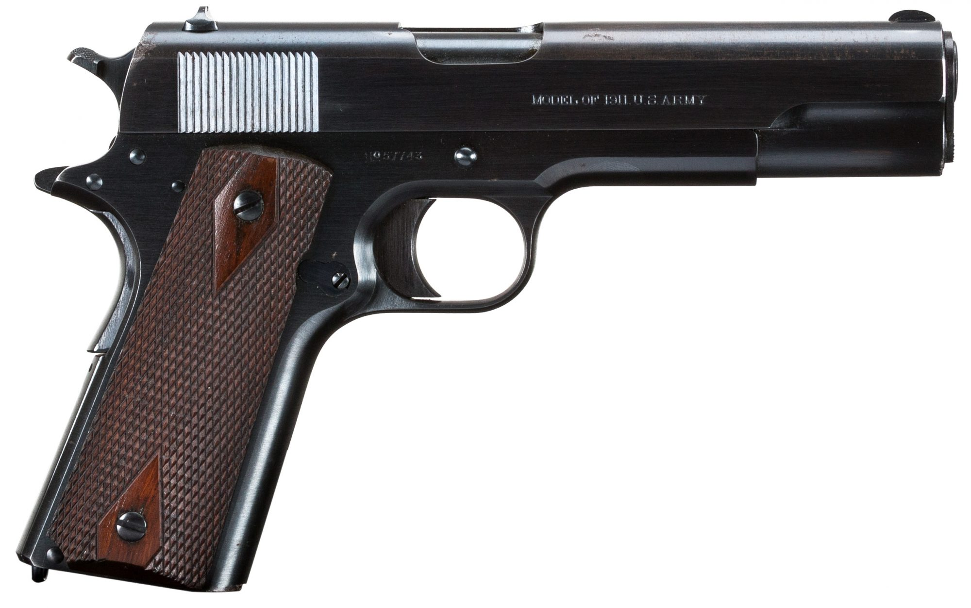 5290 Colt 1911 right side view