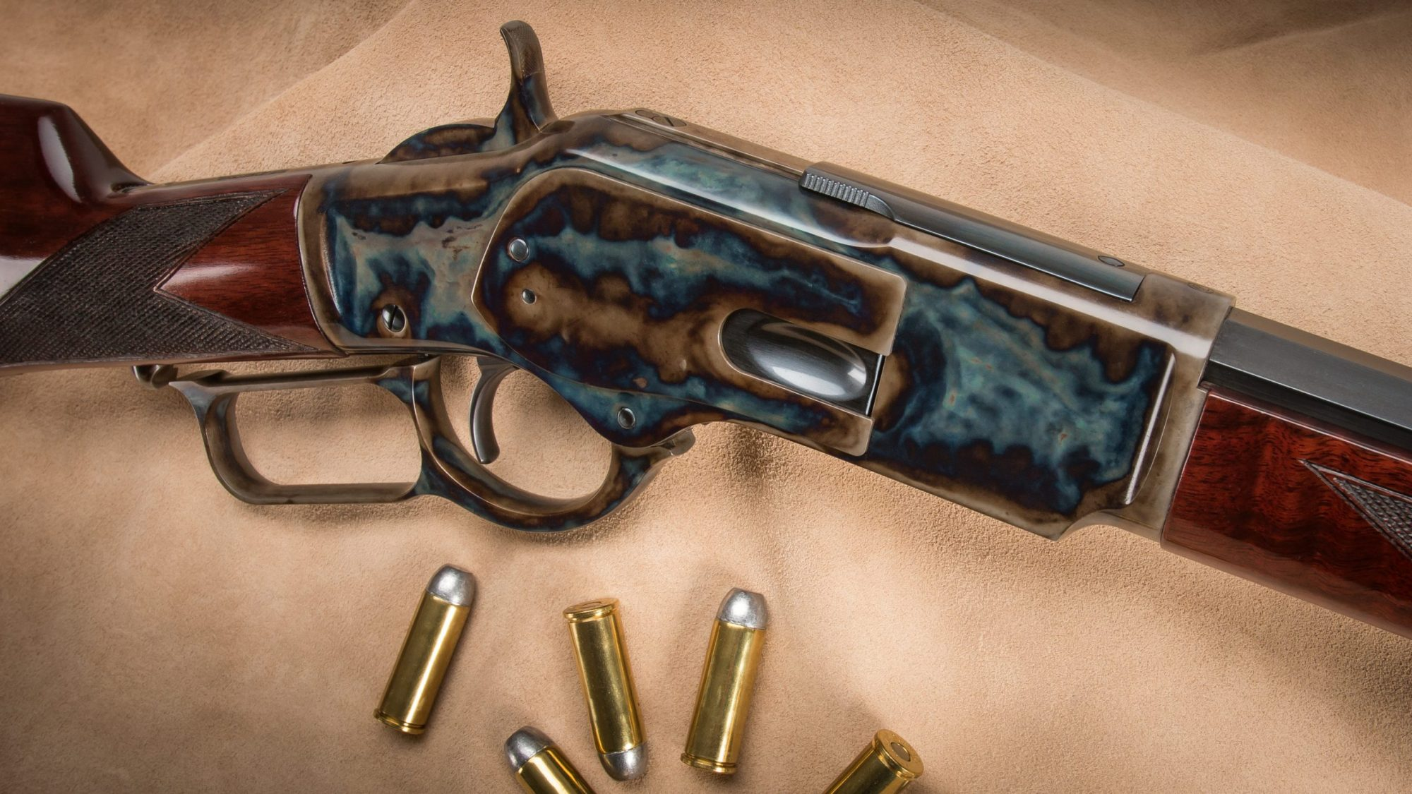 Turnbull-Finished Winchester 1873 in .357/.38 PAST PRODUCT - No ...