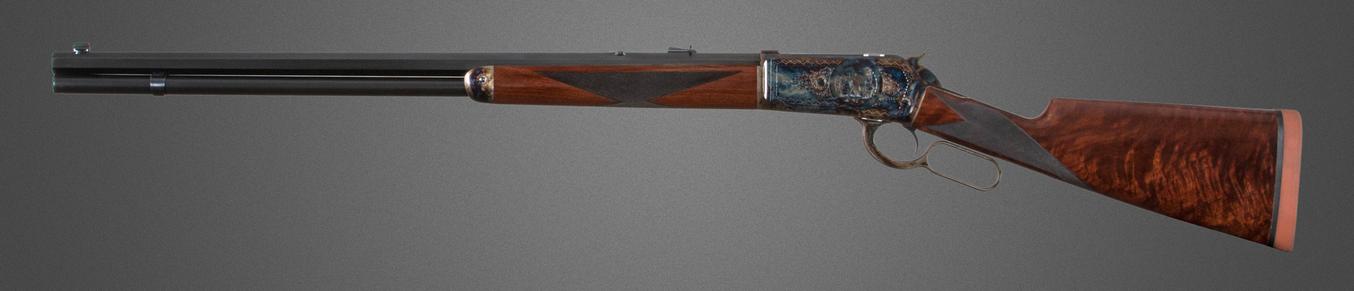 Turnbull Model 1886 lever action rifle as supplied to 2017 WACA Annual Meeting Auction