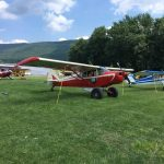 Photo of Piper PA-12 Super Cruiser parked in Lock Haven, PA