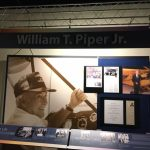 Photo of Piper Aviation Museum display