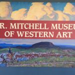 Photo of sign at A.R. Mitchell Museum of Western Art in Trinidad, CO