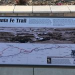 Santa Fe Trail in Cimarron, New Mexico