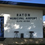 Exterior photo of Raton Municipal Airport in Raton, NM