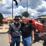 Doug Turnbull and NRA Museums Director Jim Supica at NRA Whittington Center in Raton, NM