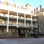 Exterior photo of Crescent Hotel and Spa in Eureka Springs, AR