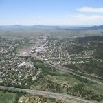 Aerial photo of Raton, NM