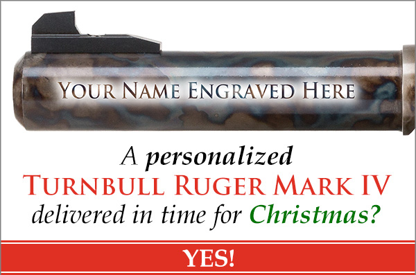 It's Personal: Laser-Engraved Turnbull Ruger Mark IV