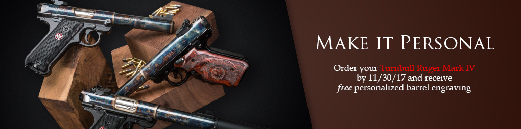 Personalized Turnbull Ruger Mark IV