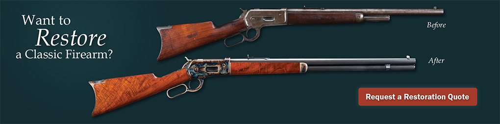 Gun Restoration Services with Turnbull Restoration