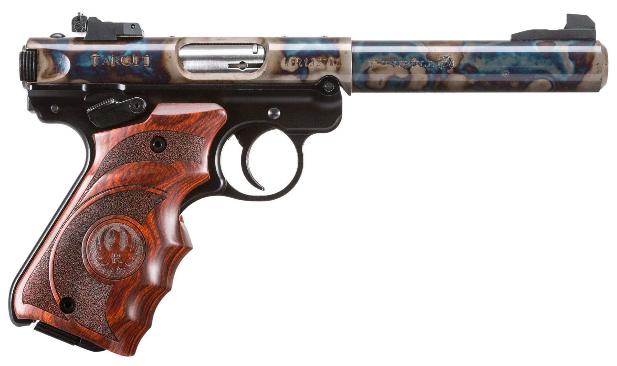 Turnbull Finished Ruger Mark IV, Wood Grips - Made to Order