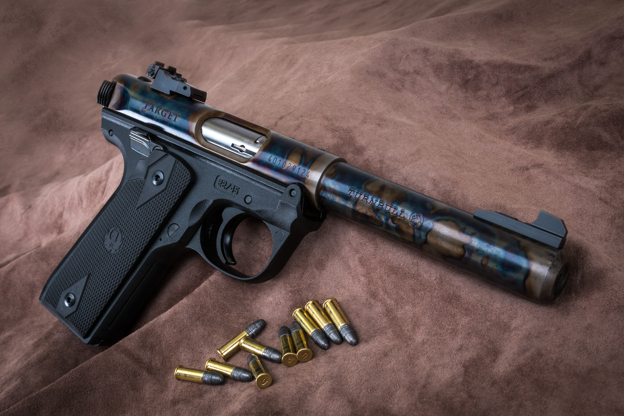 Turnbull Finished Ruger Mark IV, 22/45 - Made to Order