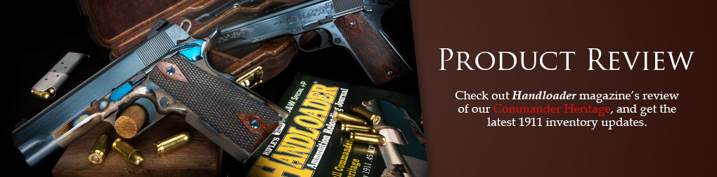 Turnbull Commander Heritage product review in Handloader magazine
