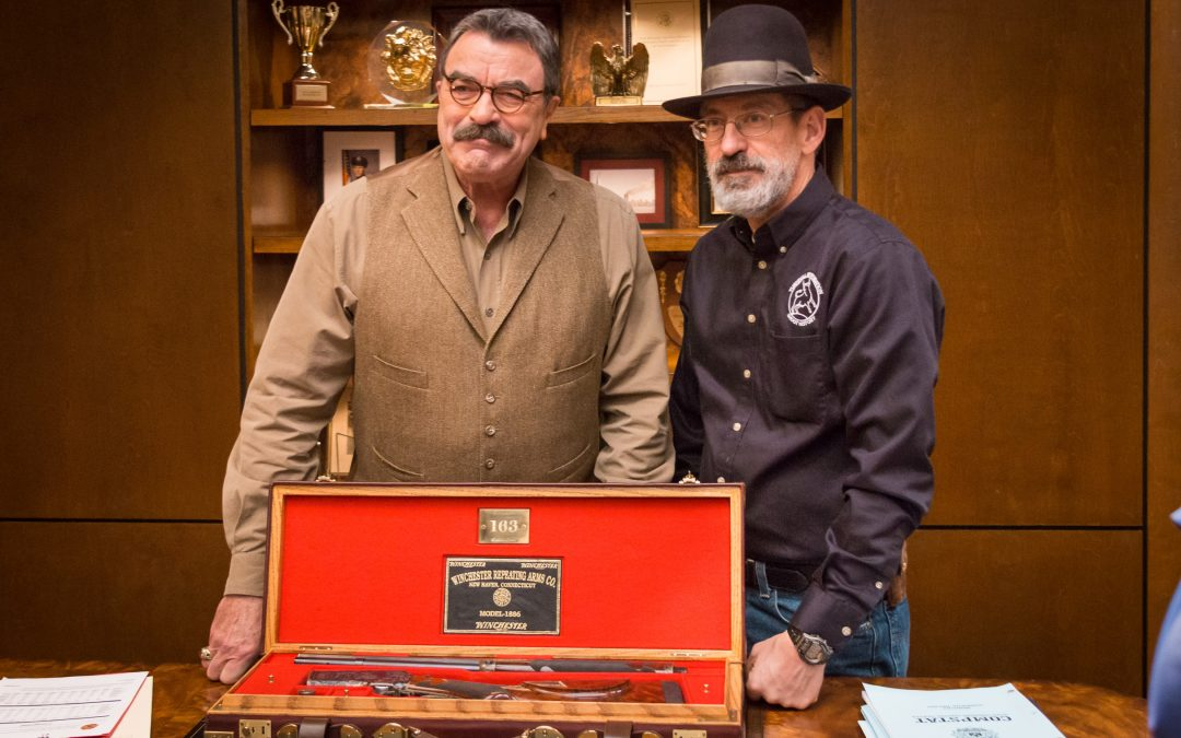 Turnbull Goes to New York City: Delivering Tom Selleck's Restored Winchester 1886