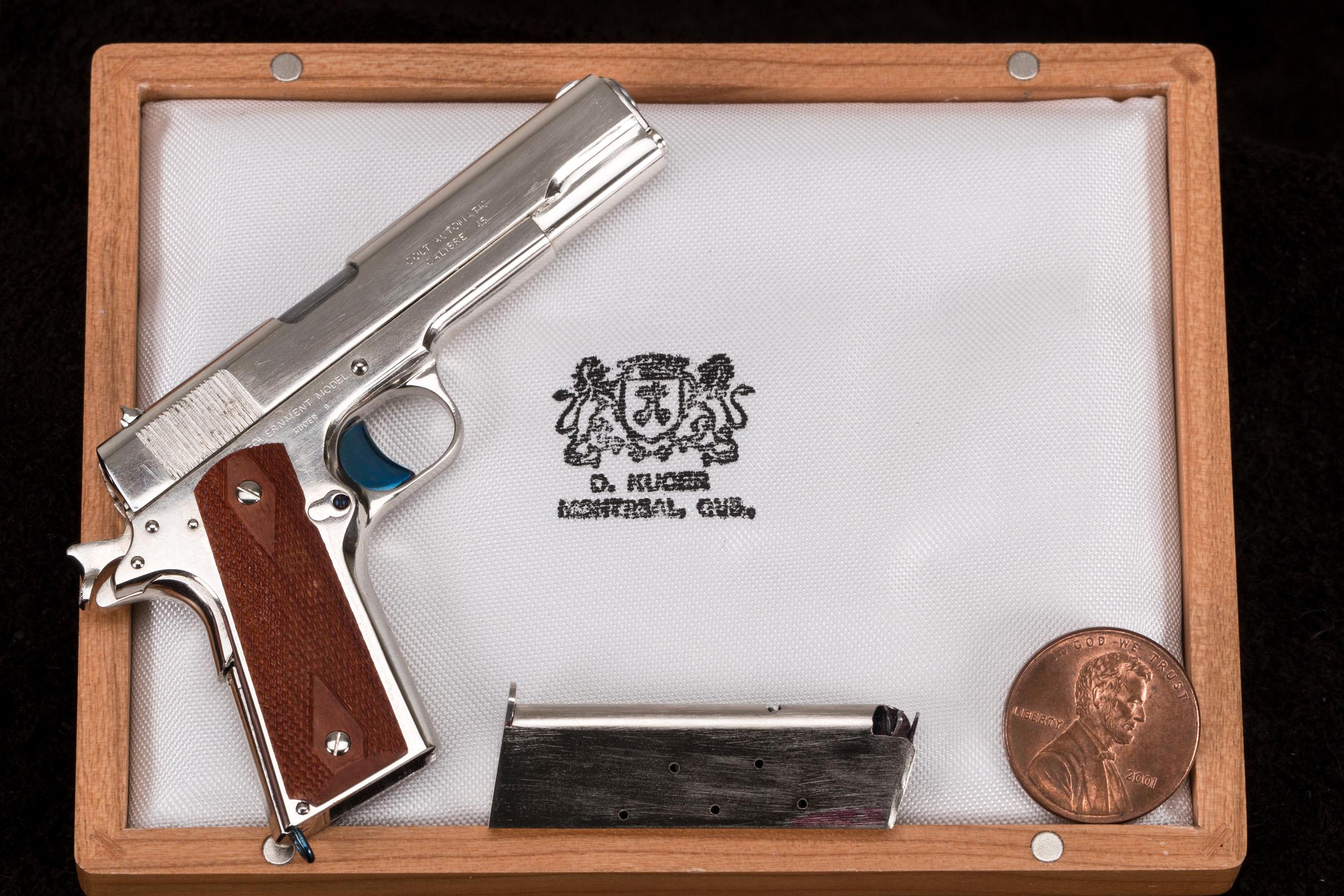 David Kucer Miniatures 1/3 Scale Colt 1911 - No Longer Available