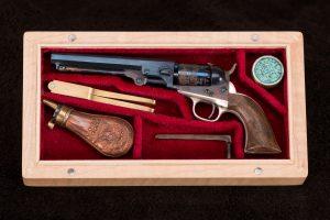 53C David Kucer Miniatures Colt 1849 Pocket Revolver 3_IMG_3277