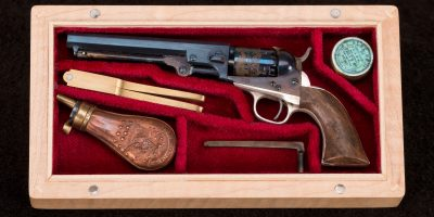 53C David Kucer Miniatures Colt 1849 Pocket Revolver 3