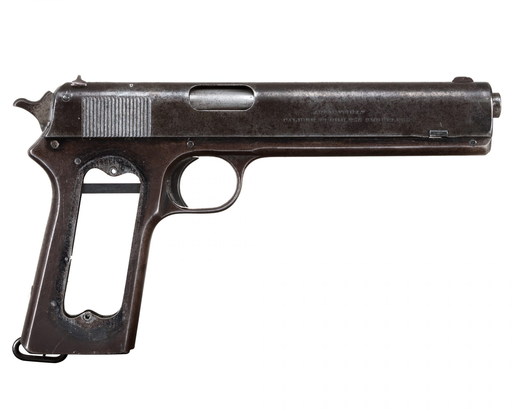 1913 Colt 1902 before restoration