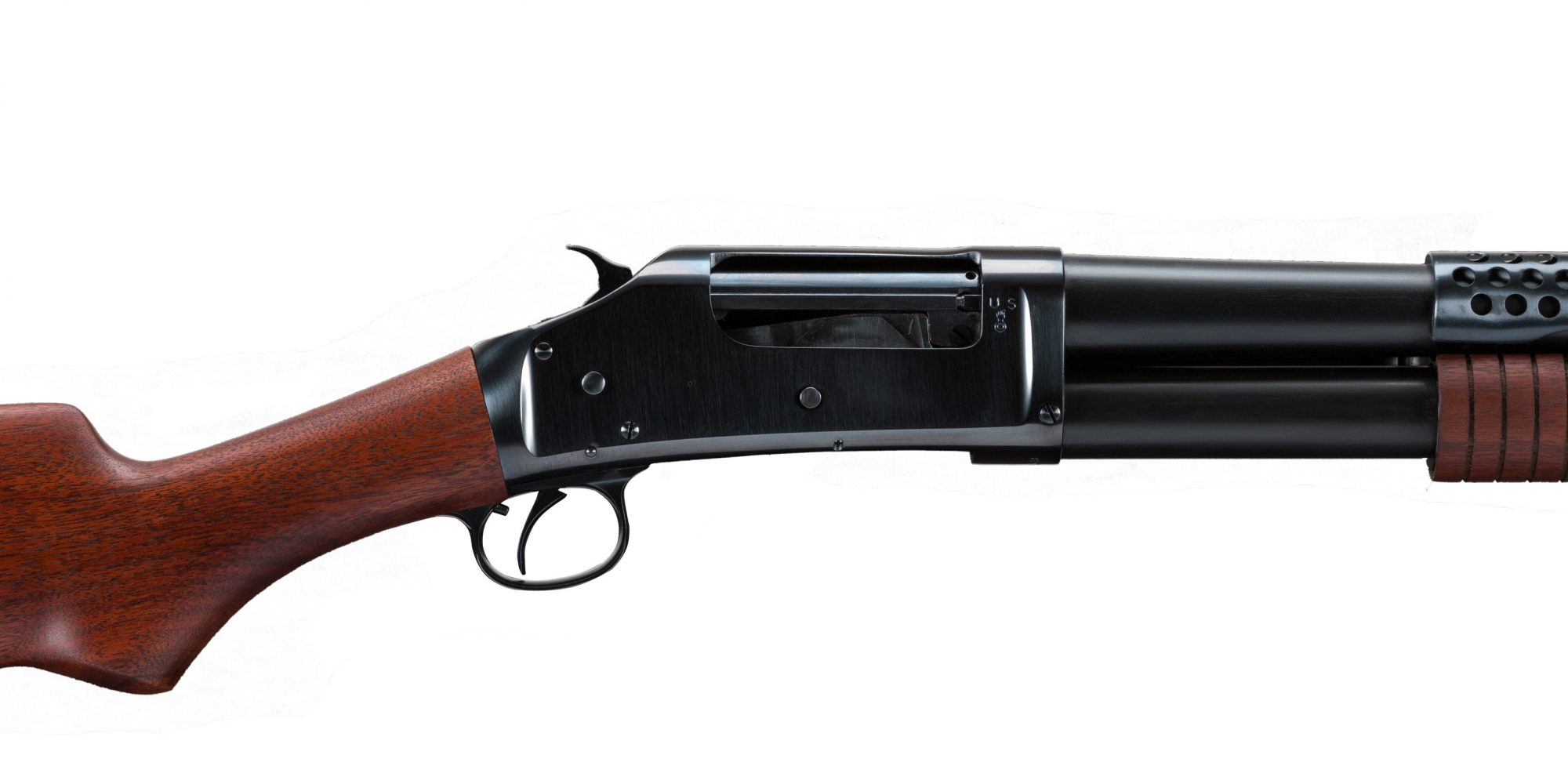 1919 Winchester 1897 after restoration