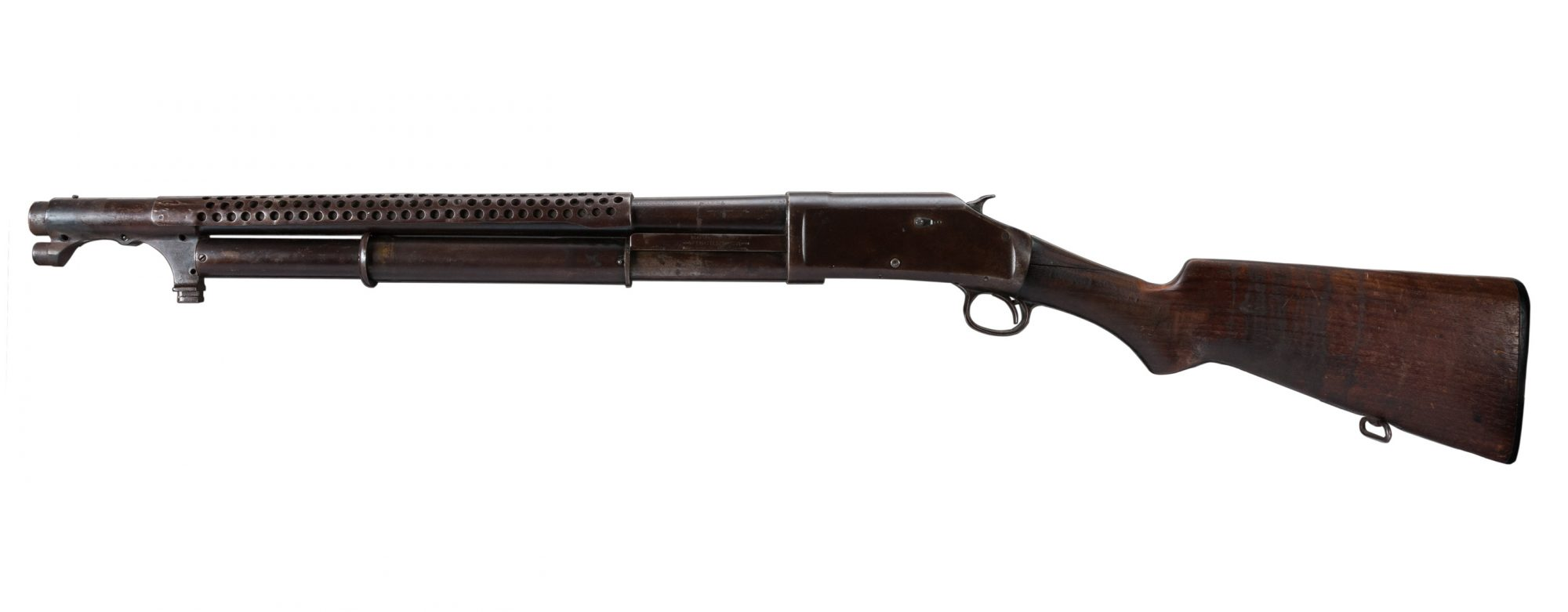 1919 Winchester 1897 before restoration
