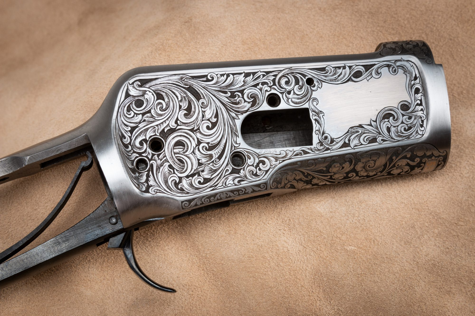 33222 Carl Bleile Engraved Winchester 1892 559135