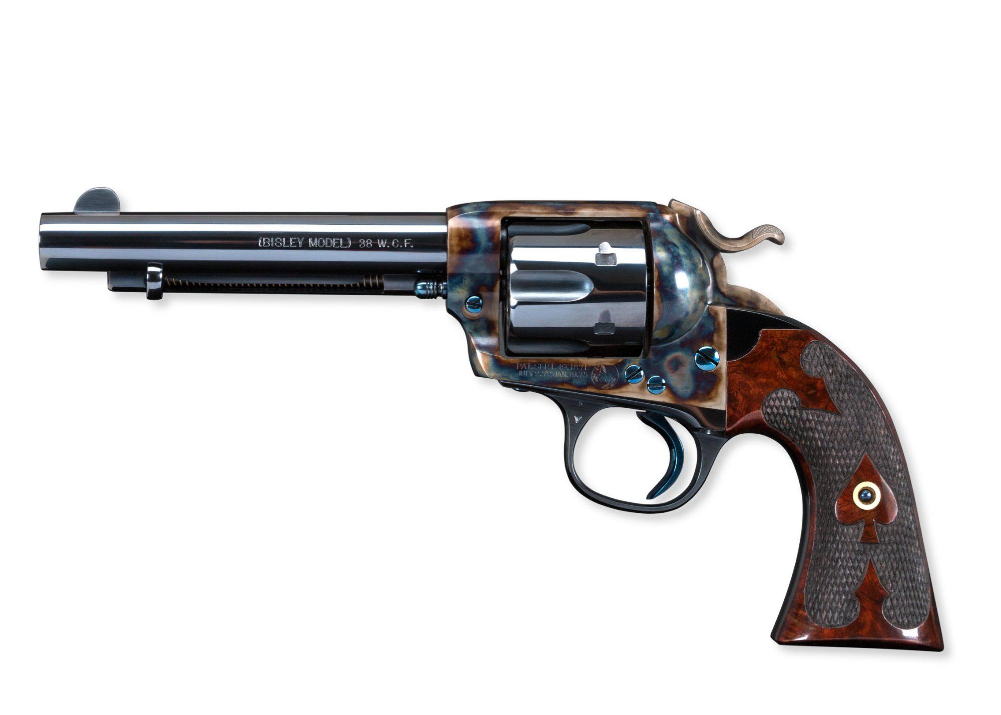 Restored Colt SAA Bisley 38 After