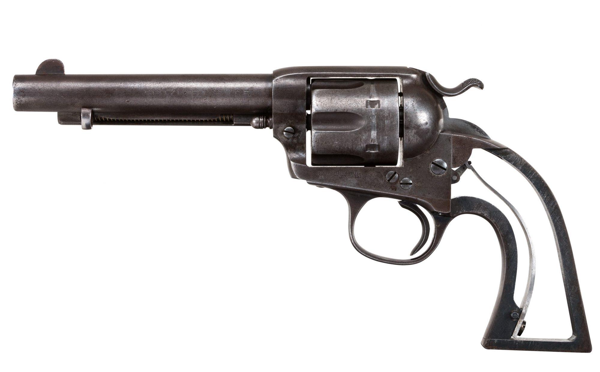 Restored Colt SAA Bisley 38 Before